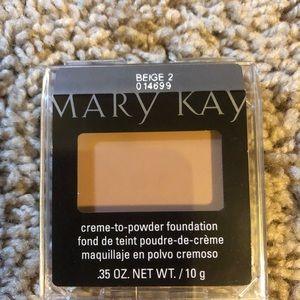 Mary Kay Creme to Powder Foundation